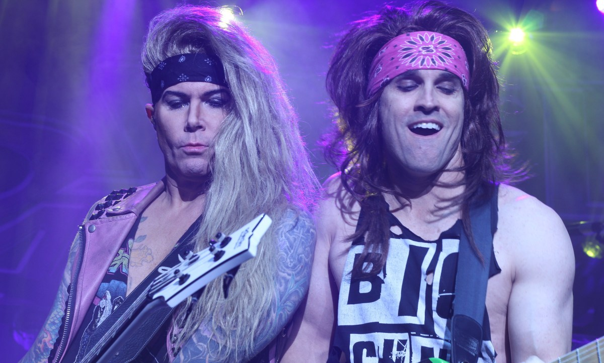 Steel Panther - Gig Review & Photo Gallery 15th May @ The Forum, Melbourne VIC